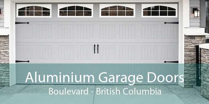 Aluminium Garage Doors Boulevard - British Columbia