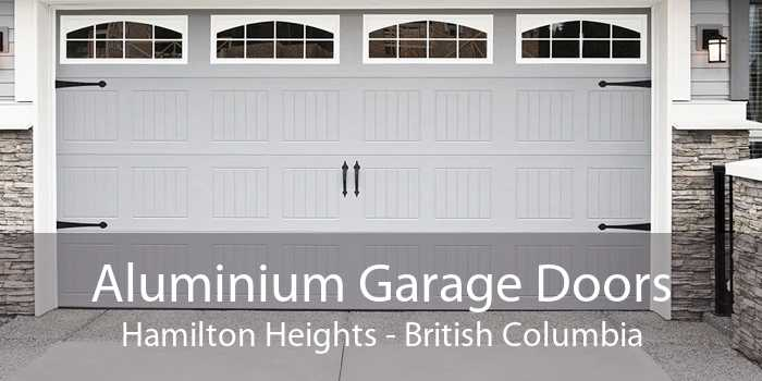 Aluminium Garage Doors Hamilton Heights - British Columbia