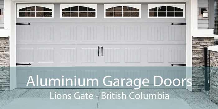 Aluminium Garage Doors Lions Gate - British Columbia
