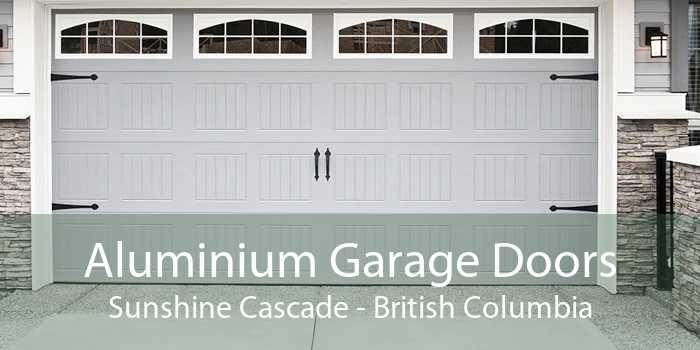 Aluminium Garage Doors Sunshine Cascade - British Columbia