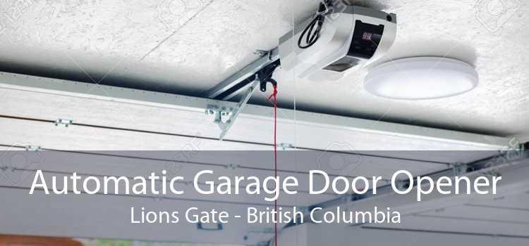 Automatic Garage Door Opener Lions Gate - British Columbia
