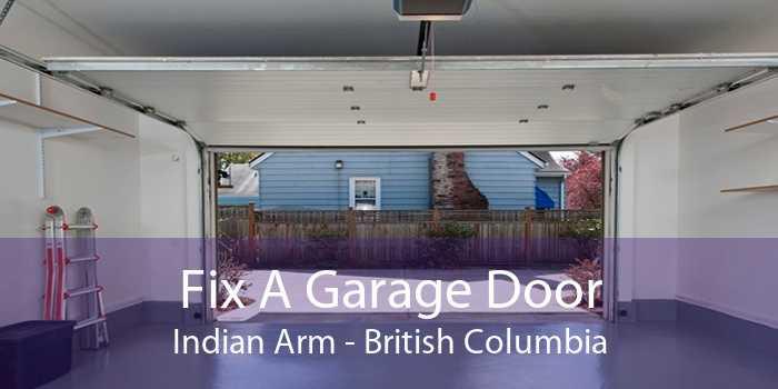 Fix A Garage Door Indian Arm - British Columbia