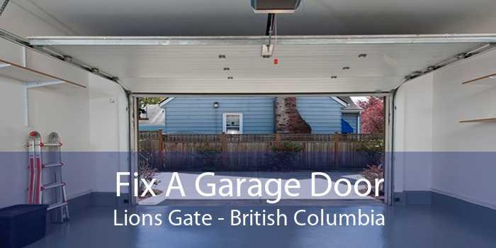 Fix A Garage Door Lions Gate - British Columbia