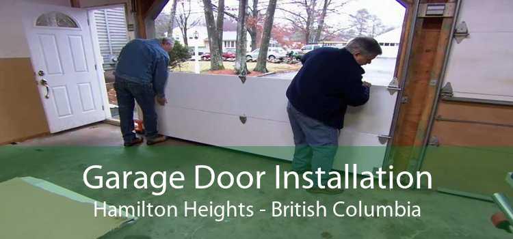 Garage Door Installation Hamilton Heights - British Columbia
