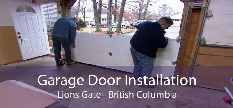 Garage Door Installation Lions Gate - British Columbia