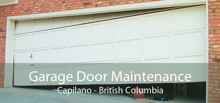 Garage Door Maintenance Capilano - British Columbia
