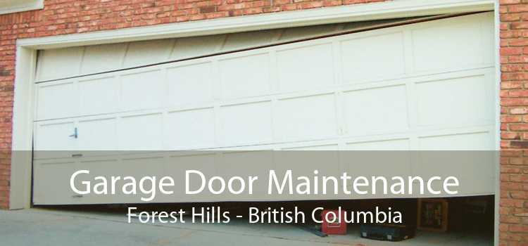 Garage Door Maintenance Forest Hills - British Columbia