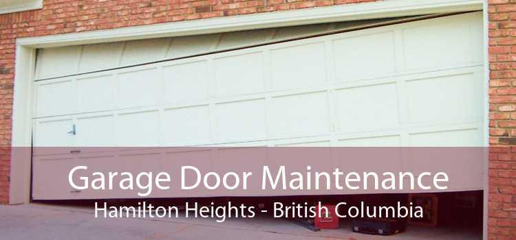 Garage Door Maintenance Hamilton Heights - British Columbia