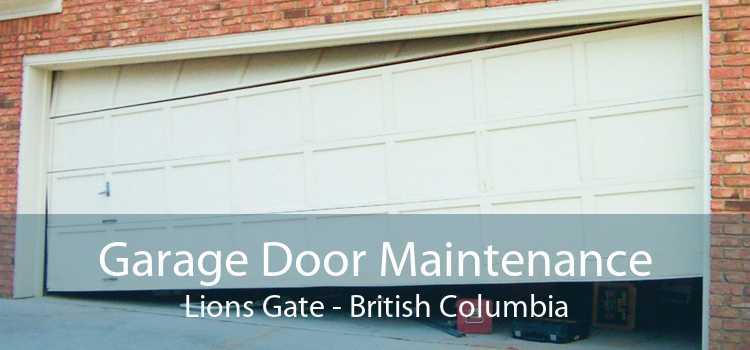 Garage Door Maintenance Lions Gate - British Columbia