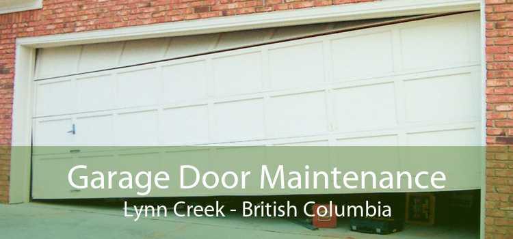 Garage Door Maintenance Lynn Creek - British Columbia