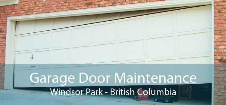 Garage Door Maintenance Windsor Park - British Columbia