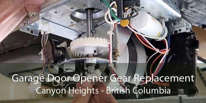 Garage Door Opener Gear Replacement Canyon Heights - British Columbia