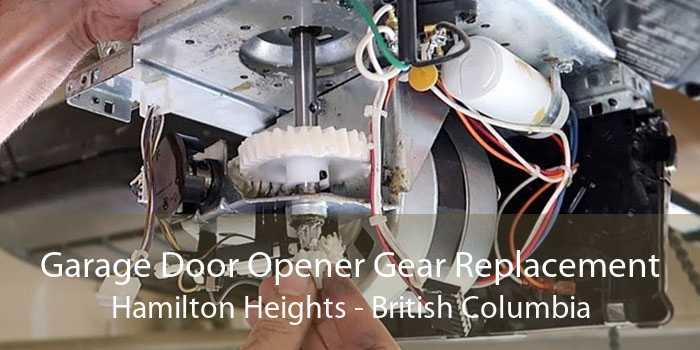Garage Door Opener Gear Replacement Hamilton Heights - British Columbia