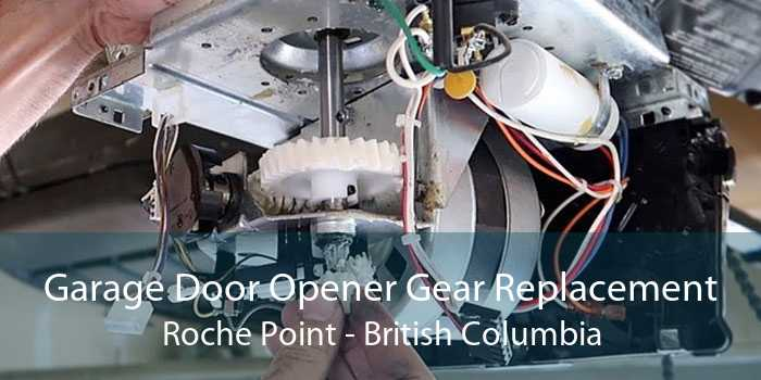 Garage Door Opener Gear Replacement Roche Point - British Columbia