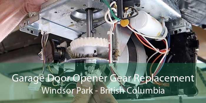 Garage Door Opener Gear Replacement Windsor Park - British Columbia