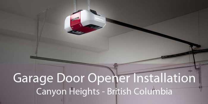 Garage Door Opener Installation Canyon Heights - British Columbia