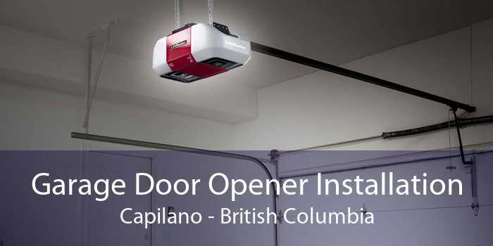 Garage Door Opener Installation Capilano - British Columbia