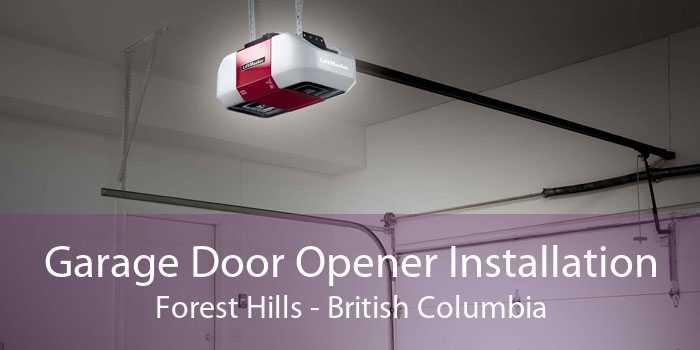 Garage Door Opener Installation Forest Hills - British Columbia