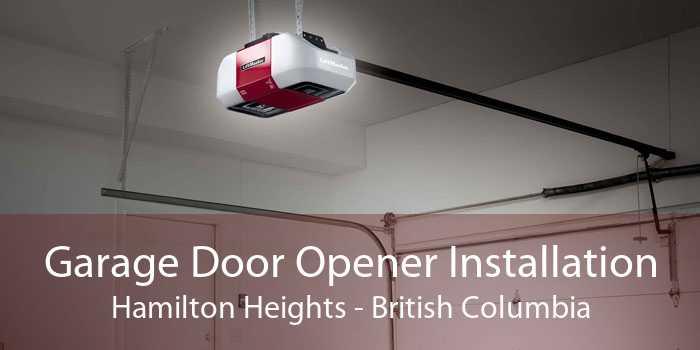 Garage Door Opener Installation Hamilton Heights - British Columbia