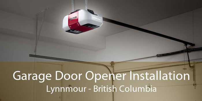 Garage Door Opener Installation Lynnmour - British Columbia