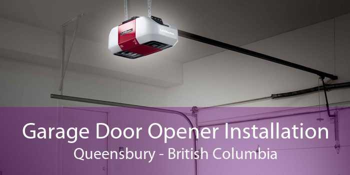 Garage Door Opener Installation Queensbury - British Columbia