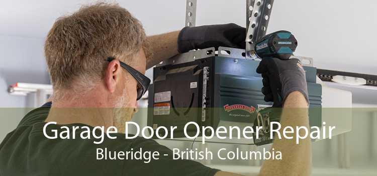 Garage Door Opener Repair Blueridge - British Columbia