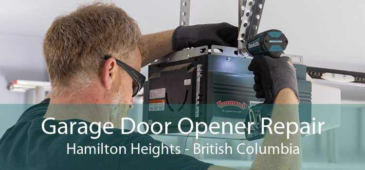 Garage Door Opener Repair Hamilton Heights - British Columbia