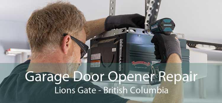 Garage Door Opener Repair Lions Gate - British Columbia