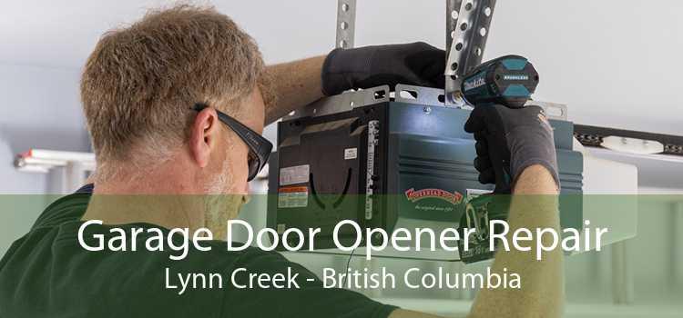 Garage Door Opener Repair Lynn Creek - British Columbia