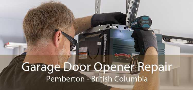 Garage Door Opener Repair Pemberton - British Columbia