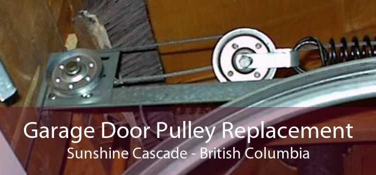 Garage Door Pulley Replacement Sunshine Cascade - British Columbia