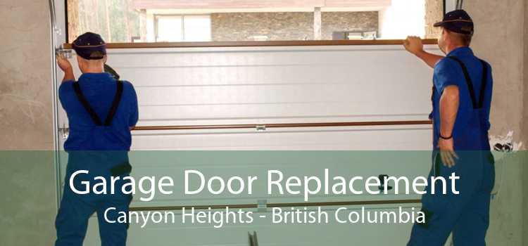 Garage Door Replacement Canyon Heights - British Columbia