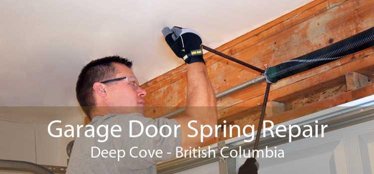 Garage Door Spring Repair Deep Cove - British Columbia