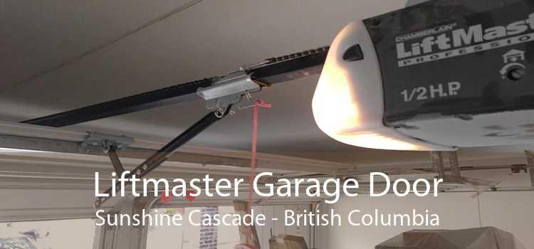 Liftmaster Garage Door Sunshine Cascade - British Columbia