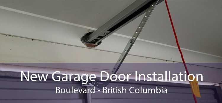New Garage Door Installation Boulevard - British Columbia