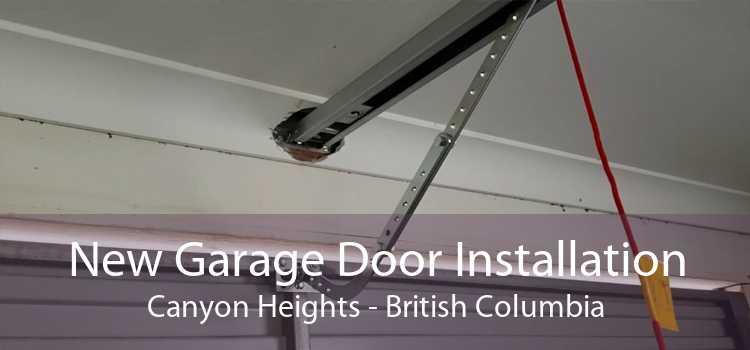 New Garage Door Installation Canyon Heights - British Columbia