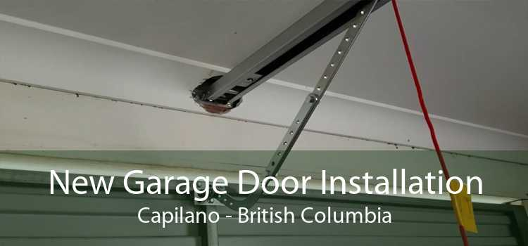 New Garage Door Installation Capilano - British Columbia