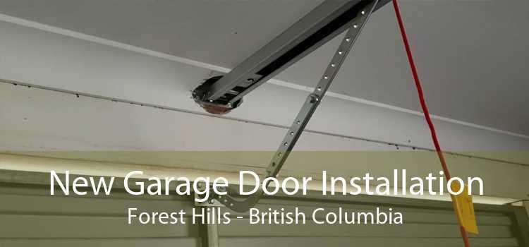 New Garage Door Installation Forest Hills - British Columbia