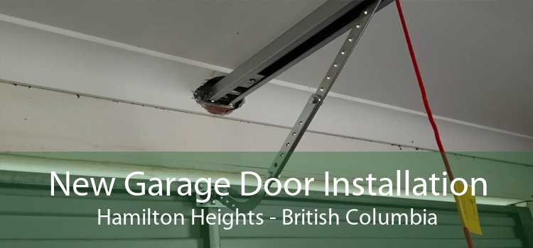 New Garage Door Installation Hamilton Heights - British Columbia