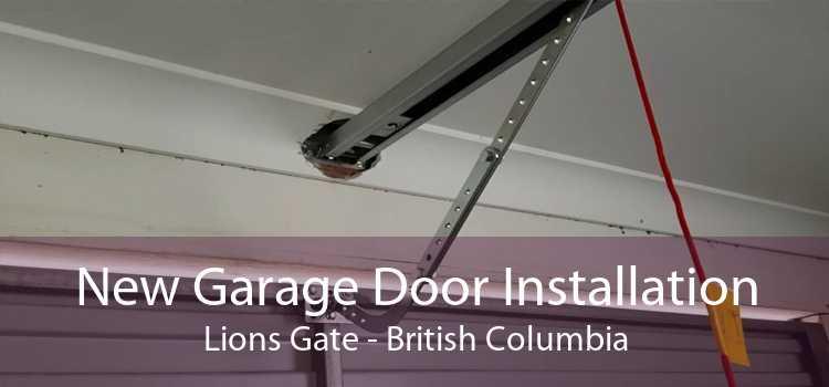 New Garage Door Installation Lions Gate - British Columbia
