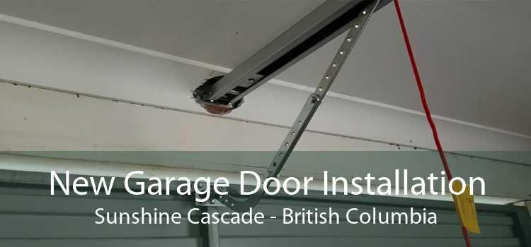 New Garage Door Installation Sunshine Cascade - British Columbia
