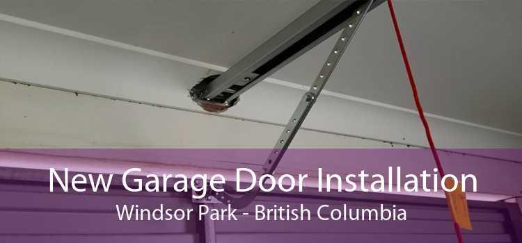 New Garage Door Installation Windsor Park - British Columbia