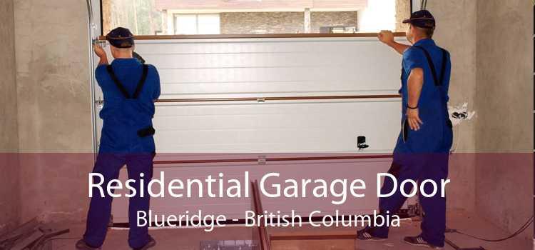Residential Garage Door Blueridge - British Columbia