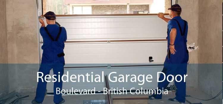 Residential Garage Door Boulevard - British Columbia
