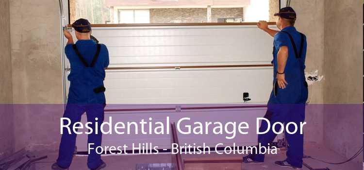 Residential Garage Door Forest Hills - British Columbia