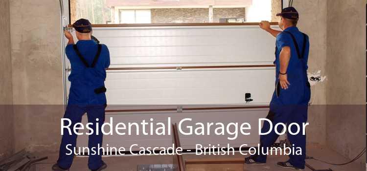 Residential Garage Door Sunshine Cascade - British Columbia