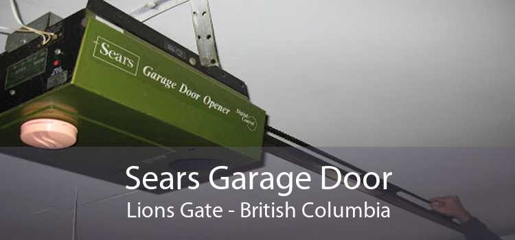 Sears Garage Door Lions Gate - British Columbia