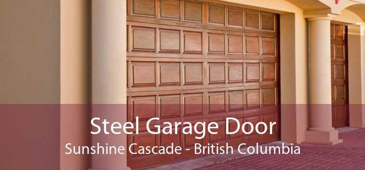 Steel Garage Door Sunshine Cascade - British Columbia