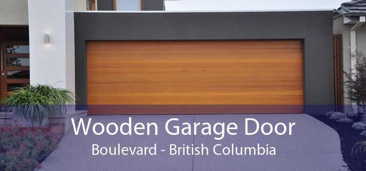 Wooden Garage Door Boulevard - British Columbia