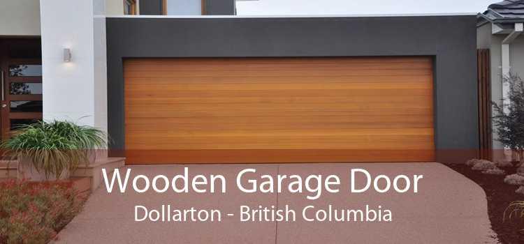 Wooden Garage Door Dollarton - British Columbia